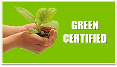 we are a green certified Irrigation Repair company