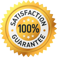 100 percent satisfaction guarantee for all Dallas Texas customers