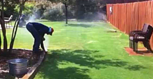 a sprinkler head optimization done by one of our University Park specialists