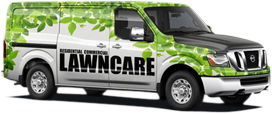Nissan van with vehicle wrap